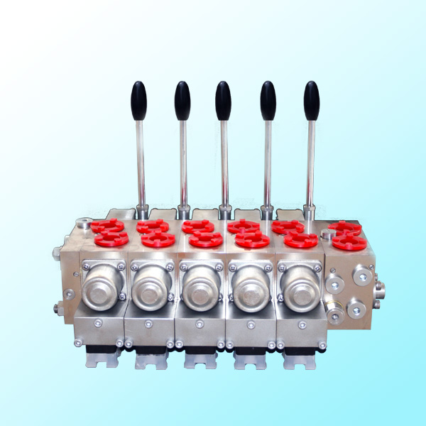 LBFD系列电控比例负荷传感多路换向阀